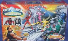 "Power Rangers Time Force Control Center w Exclusive 5"" Ransik Quantum Ranger New"