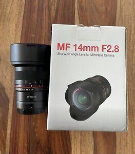 Samyang 14mm f/2.8- Nikon Z Mount