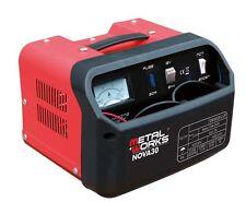 Cargador de batería NOVA 30 700 w 12/24 v 20 A 92/250 Ah 10 kg MetalWorks
