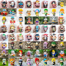 SC One Piece Pirates Luffy Ace Zoro DIY Mini Diamond Blocks Building Toy 64pcs