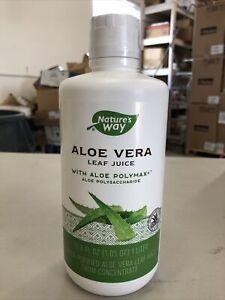 Natures Way Aloe Vera Leaf Juice (33.8 fl. oz.)