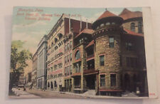 Vintage 1908 Tennessee Club So. Express Building North Court St. Memphis TN