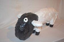 "Minnie Adkins large carved 'Sheep'  29"" long, 10"" tall ......outsider folk art"