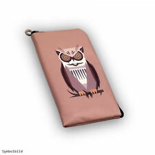 Universal Mobile Phone Protective Pouch Cover Case Sleeve Pouch Protection Bag Owl Single L-6