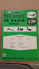 # CB  238   SAMS MANUAL 1978 Lafayette  Royce Superscope CB Radio /M1