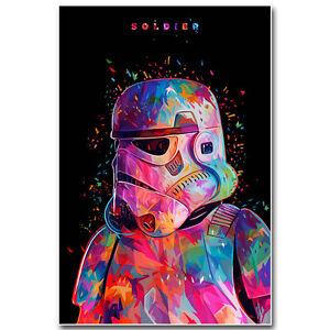 Stormtrooper Star Wars Movie Silk Poster Art Print 12x18 24x36 inch Home Decor