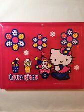Rare Sanrio 2003 Hello Kitty & Cathy Flower Power Portfolio Case