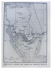 1926 Beadnell - MAPPING UNEXPLORED SINAI PENINSULA - Egypt
