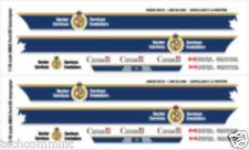 1:24 DECALS CBSA CANADA BORDER SERVICES MOTORMAX FORD CROWN VICTORIA