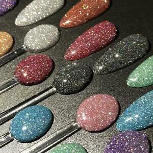 Glitter Poly Shiny Gel Nails Polish Supper Shinning Bling Nail Art Glitter L2N1