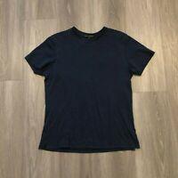 Robert Barakett Mens Medium Navy Pima Cotton T Shirt