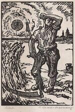 Sächsische Künstler. - Grimm-Sachsenberg, Richard.