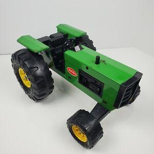 Vintage Tonka Green Farm Tractor Toy Big Wheels Working XMB-975