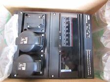 ABB Kombi MODULARE Combinazione di plastica nera MP32/1 BS 13 A 32 A 1005L1 9144705