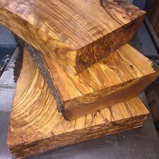 Drechselholz 5kg Bohlenabschnitt Olive Wood Olivenholz Bastelholz 45-60mm Dicke