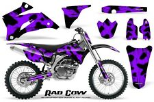 YAMAHA YZ250F YZ450F 06-09 GRAPHICS KIT CREATORX DECALS RAD COW PRNP