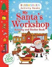 My Santa's Workshop Activity and Sticker Book (Bloomsbury Activity Books),Blooms