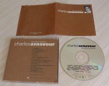 CD ALBUM LES DEUX GUITARES CHARLES AZNAVOUR 16 TITRES 1995