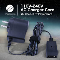12V Charger for Streamlight Flashlight Adapter Charge Cord AC All Rechargeable