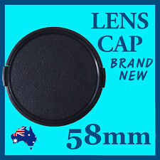 58mm High Quality Lens Cap Cover For Canon Nikon SONY
