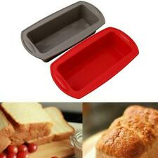 Non-stick Silicone Toast Bread Cake Baking Mold Loaf Tin Bakeware Mould DIY D6N2