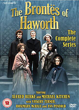 DVD:THE BRONTES OF HAWORTH - THE COMPLETE SERIES - NEW Region 2 UK