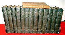 ELBERT HUBBARDS LITTLE JOURNEYS MEMORIAL EDITION 1916 13 VOLS (- #10) GUIDE BOOK