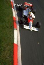 Ayrton Senna McLaren MP4/5 Winner Belgian Grand Prix 1989 Photograph 3