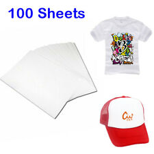 A4,100 sheet,Heat Transfer Inkjet Printer Paper for Light Color T-Shirt Cotton