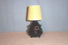 Vintage Avon 8 oz Hearth Lamp Decanter 1973 - 76 Mib