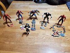 1996 Series 6 Spider-Man The New Animated Series action figures 4 of 5 & bonuses