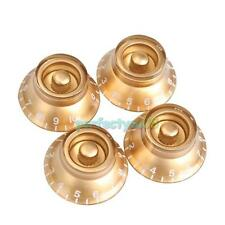 4pcs Guitar Speed Control Tone Volume Knobs For Gibson Les Paul Parts Gold