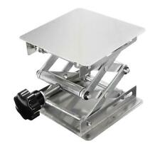 "Brand New 150x150mm (6x6"") 430 Stainless Steel Lab Lifting Scissor Jack Platform"