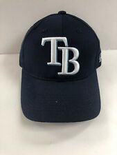 Tampa Bay Rays Hat Replica Adjustable Pre Curved Baseball Cap Adult