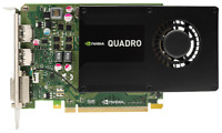 HP (764899-001) nVidia Quadro K2200 - 4GB GDDR5 PCIe-x16 FH (765148-001) GPU