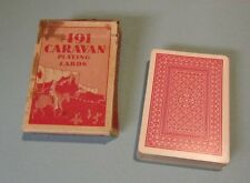 Vintage Caravan 491 Magic Trick Playing Cards Deck in Original Box 48 Cards
