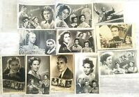 vintage soviet postal cards USSR film actors russian movie blockbuster (№11)