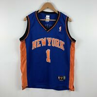 New York Knicks Mens Basketball Jersey Size 48 Large #1 Stoudemire Vintage