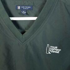 Oxford Embroidered Coca Cola Tour Championship Golf Wind Vest Mens XL
