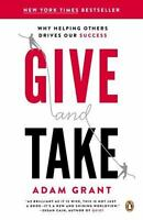GIVE AND TAKE - GRANT, ADAM - NEW PAPERBACK BOOK