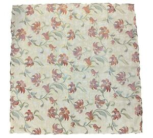 """TAPESTRY VINTAGE VICTORIAN LOOK FLORAL DESIGN TABLE CLOTH 35"""" SQUARE £7.99"""