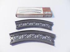 Märklin 8977, Spur Z, 2 gebogene Rampen, Radius 145 mm, Gleisbogen 45°, OVP, MDH