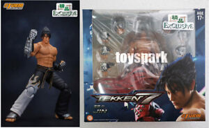 IN STOCK STORM COLLECTIBLES Tekken 7 JIN KAZAMA Exclusive action figure Special