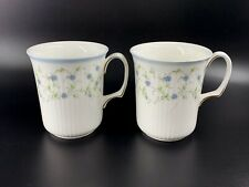 Royal Albert Caroline Hot Chocolate Coffee Mugs Set of 2 Bone China England