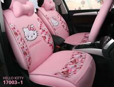 Pink 1 set New universal Hello Kitty cartoon cuteFour Seasons car seat cover