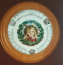Royal Doulton Christmas Carols Plate The Holly & The Ivy 1986