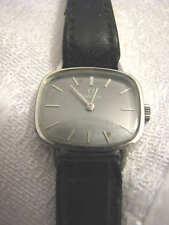 Ladies OMEGA GENEVE Grey Dial Watch Manual Winding