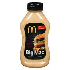 Rare McDonald's Big Mac Secret Sauce Promo New 12oz bottle Limited Edition
