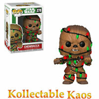 Star Wars - Chewbacca with Lights Christmas Holiday Pop! Vinyl Figure #278