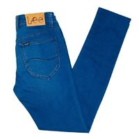 Lee L0 Skinny Womens Blue Denim Jeans Size 29
